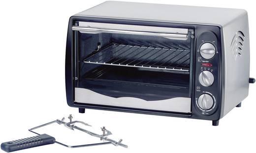 Eltac RG 12 Mini-oven met grillspies, Timerfunctie 15 l 1200 W