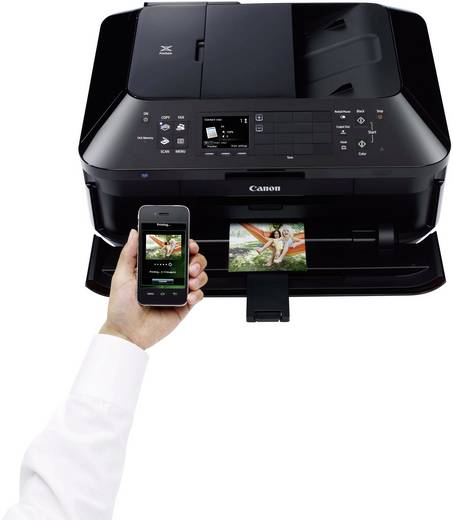 Canon PIXMA MX925 Multifunctionele inkjetprinter Printen, Scannen, Kopiëren, Faxen LAN, WiFi, Duplex, ADF
