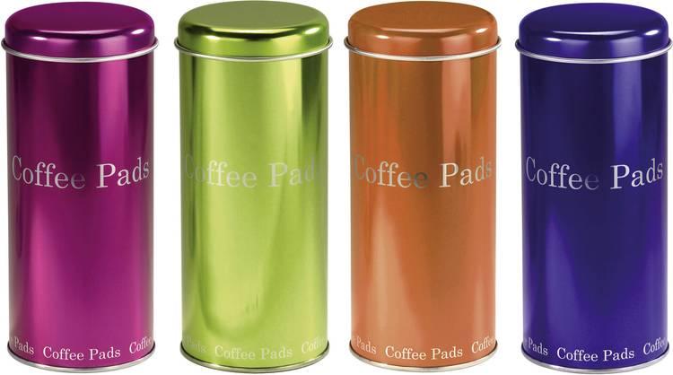 Voorraadbus voor koffiepads Xavax Kaffeepaddose verschiedene Farben
