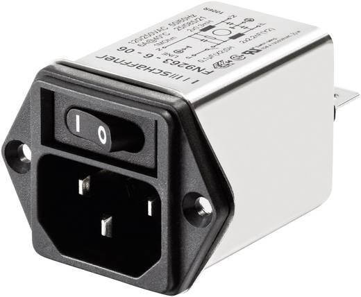 Schaffner FN 9263-1-06 Netfilter Met IEC-connector 250 V/AC 1 A 5.3 mH 1 stuks