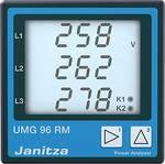 6-kanaals netanalysator UMG96RM-E, Ethernet, met RCM-meting