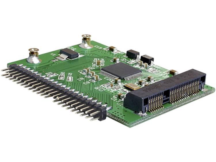 Interface-converter [1x IDE stekker 44-polig - 1x Mini-SATA-bus] Delock 124395