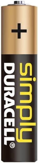 AAA batterij (potlood) Duracell Simply LR03 Alkaline 1.5 V 4 stuks