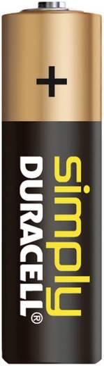 AA batterij (penlite) Duracell Simply LR06 Alkaline 1.5 V 4 stuks