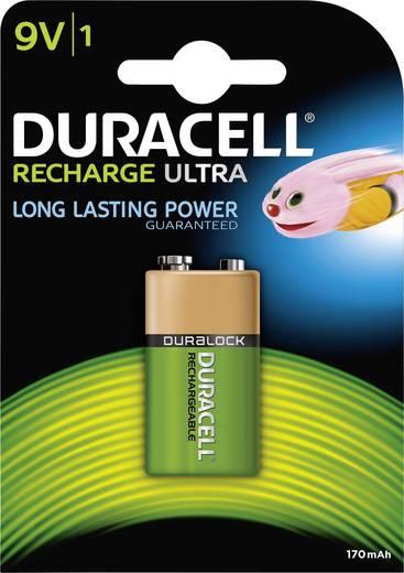 Oplaadbare 9V batterij (blok) Duracell 6LR61 NiMH 8.4 V 170 mAh 1 stuks