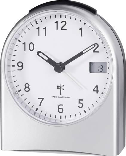 Wekker Zendergestuurd Zilver Alarmtijden: 1 TRC202LCD 9080c21a
