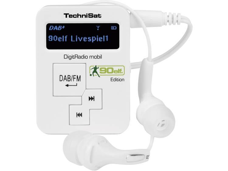 TechniSat Mobil DAB+ Zakradio DAB+, FM Herlaadbaar Wit