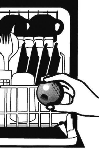 MagnoFix Waschkugel gegen Kalk wasbol voor wasmachines en vaatwasmachines