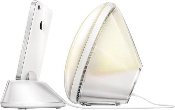 Philips Wekker Licht : Lichtwekker 24 w philips wake up light iphone conrad.nl