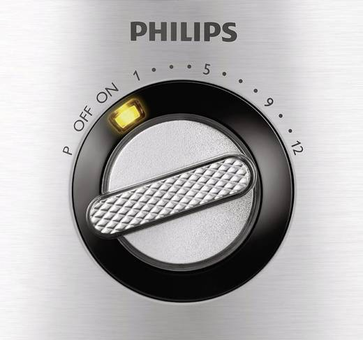 Philips HR7778/00 Avance Collection Foodprocessor 1300 W RVS, Zwart