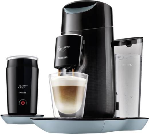 SENSEO® Twist & Milk - Misty Dawn & Schwarz + Milchaufschäumer im Set HD7874/60 Koffiepadmachine Zwart met melkopschuime