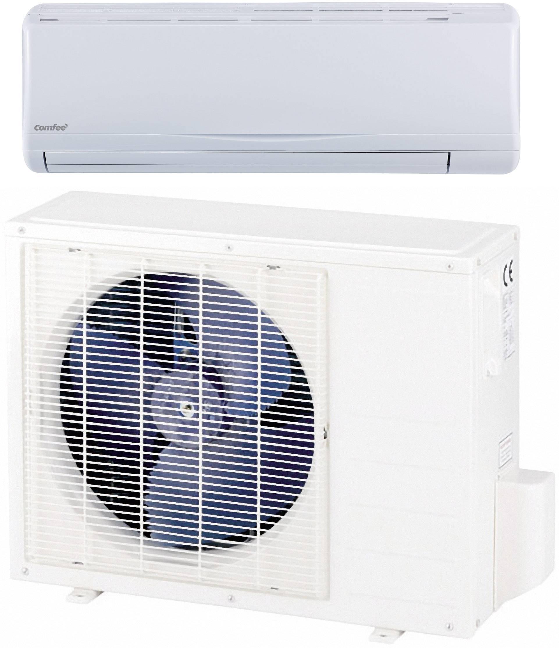 Inverter Split Airco Energielabel Verwarmen Koelen A 2600 W 40 M² Comfee By Midea Msr23 09hrdn1 Wit Grijs