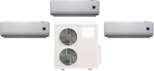 Comfee by Midea 9000 Full-Inverter Full-inverter Split airco 32 m² 2600 W Energielabel verwarmen/koelen: A/A++ Grijs