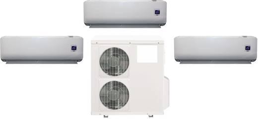 Comfee by Midea Trio-Split-Klimagerät 9000 Full-Inverter Full-inverter Split airco 32 m² 2600 W Energielabel verwarmen/koelen: A/A++ Grijs