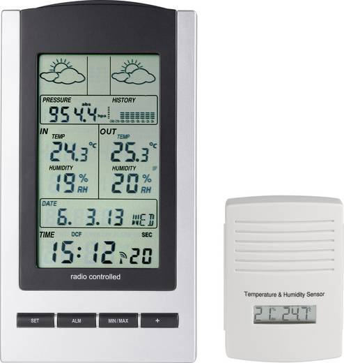 Digitaal draadloos weerstation WS 1173 Voorspelling voor 12 tot 24 uur