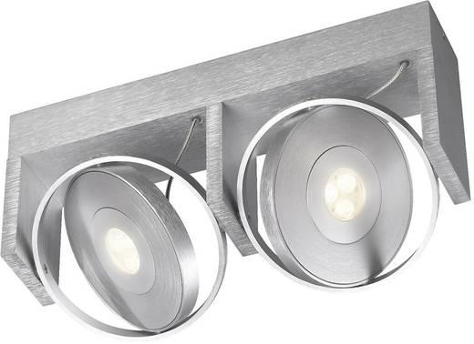 LED-plafondspot 15 W Warm-wit Philips Ledino 53152/48/16 Aluminium