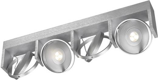 LED-plafondspot 24 W Warm-wit Philips Ledino 53154/48/16 Aluminium