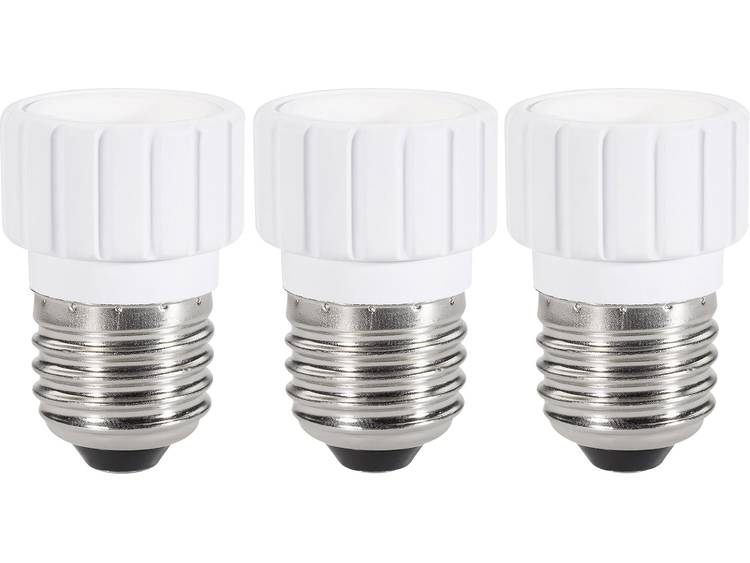 Renkforce 97029c81a lampfitting Adapter E27 naar E14 Geschikt voor: max. 75 W