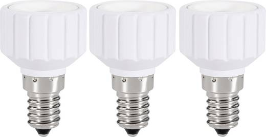 Renkforce 97029c81c Lampfitting-adapter E14 naar GU10 Set van 3 230 V 75 W