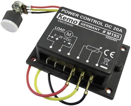 Kemo M195 PWM vermogensregelaar Module 9 V/DC, 12 V/DC, 24 V/DC, 28 V/DC