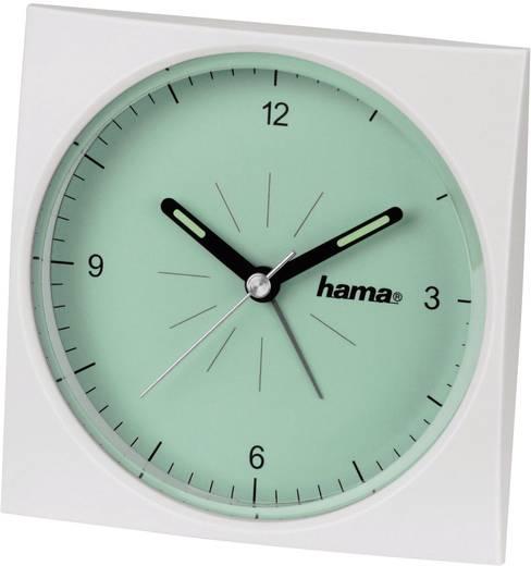 Wekker Quarz Groen Alarmtijden: 1 Hama 00113975