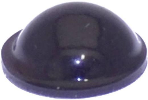 TOOLCRAFT PD2095SW Apparaatvoet Zelfklevend, Rond Zwart (Ø x h) 9.5 mm x 3.8 mm 1 stuks