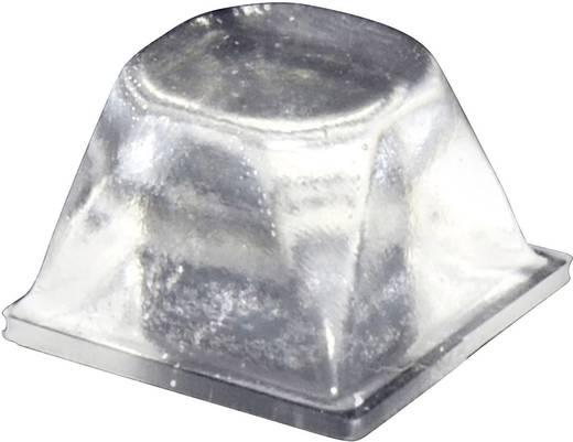 TOOLCRAFT PD3206C Apparaatvoet Zelfklevend, Rond Transparant (Ø x h) 20.5 mm x 13.2 mm 1 stuks