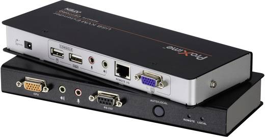 ATEN CE770-AT-G VGA, Jackplug, USB 2.0 Extender (verlenging) via netwerkkabel RJ45 300 m 1920 x 1200 pix