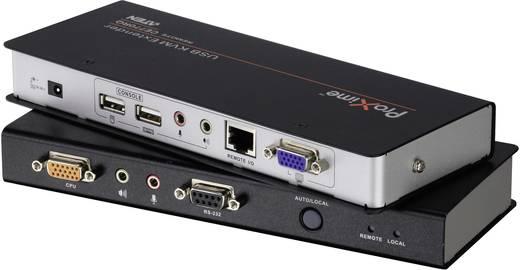 VGA, Jackplug, USB 2.0 KVM-Extender (verlenging)via netwerkkabel RJ45ATENCE770-AT-G300 m