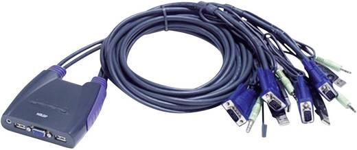 ATEN CS64US-AT 4 poorten KVM-schakelaar VGA USB 2048 x 1536 pix