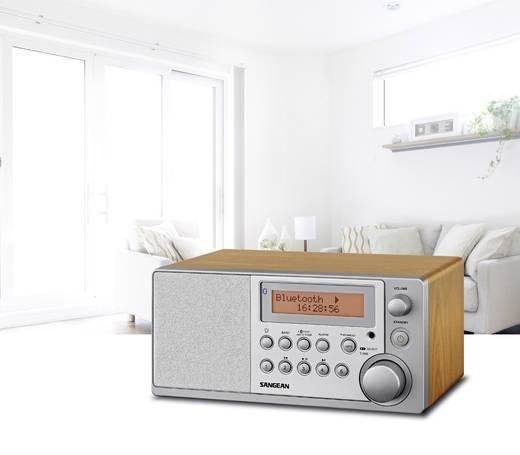DAB+ Tafelradio Sangean DDR-31 BT AUX, Bluetooth, DAB+, FM Hout