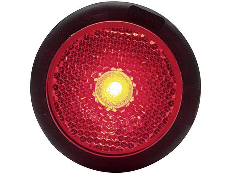 LED Markeringslicht Markeringslicht, Achterlicht, Reflector achter 12 V, 24 V Rood SecoRüt