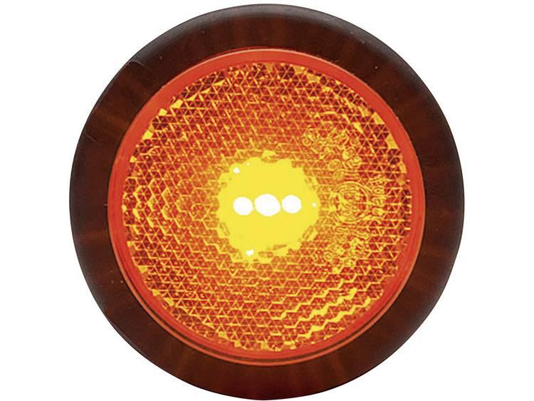 LED Markeringslicht Markeringslicht, Reflector, Achterlicht achter 12 V, 24 V Oranje WAS