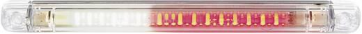 LED Aanhangerachterlicht achter 12 V, 24 V Rood, Wit SecoRüt Helder glas