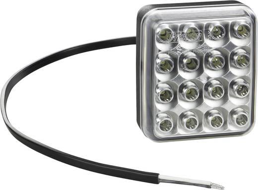 Hoog vermogen LED's Achteruitrijlicht achter 12 V, 24 V, 36 V Wit SecoRüt Helder glas