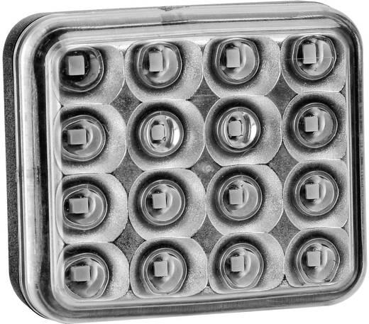 Hoog vermogen LED's Mistlamp achter 12 V, 24 V, 36 V Rood SecoRüt Helder glas