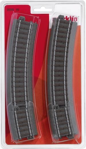 H0 Märklin C-rails (met ballastbed) 20299 Gebogen rails