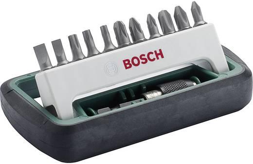 Bitset 12-delig Bosch Accessories 2608255994 Plat, Kruiskop Phillips, Kruiskop Pozidriv, Torx