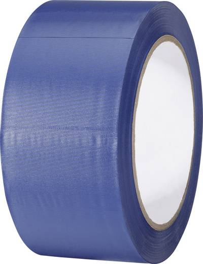 TOOLCRAFT PVC-plakband Blauw (l x b) 33 m x 50 mm Rubber Inhoud: 1 rollen