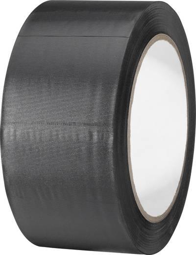 TOOLCRAFT PVC-plakband Zwart (l x b) 33 m x 50 mm Rubber Inhoud: 1 rollen