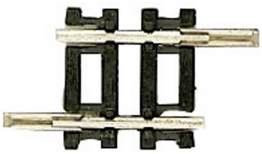 N Fleischmann rails (zonder ballastbed) 22207 Rechte rails 17.2 mm