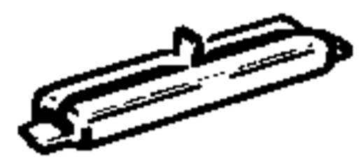 N Fleischmann rails (zonder ballastbed) 22214 Railsverbinder, Geïsoleerd