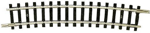 N Fleischmann rails (zonder ballastbed) 22225 Gebogen rails 15 ° 329 mm