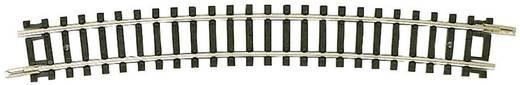 N Fleischmann rails (zonder ballastbed) 22227 Gebogen rails 15 ° 480 mm