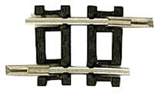 N Fleischmann rails (zonder ballastbed) 22232 Gebogen rails 6 ° 194.6 mm