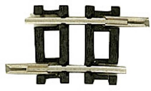 N Fleischmann rails (zonder ballastbed) 22232 Gebogen rails