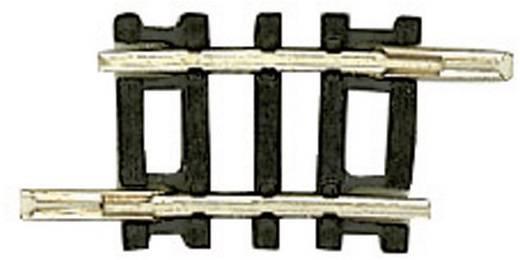N Fleischmann rails (zonder ballastbed) 22234 Gebogen rails