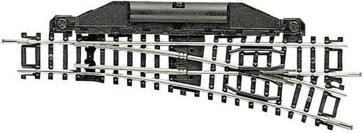 N Fleischmann rails (zonder ballastbed) 22261 Wissel, Elektrisch, Links 112.6 mm