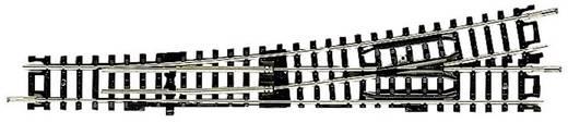 N Fleischmann rails (zonder ballastbed) 22301 Onderbouwwissel, Links 155 mm