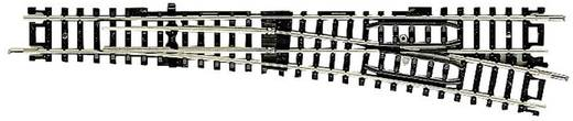 N Fleischmann rails (zonder ballastbed) 22303 Onderbouwwissel, Rechts 155 mm